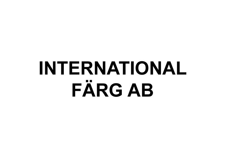 International Färg AB