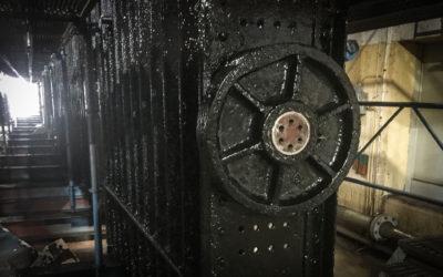Renovering av Isgaller i Lilla Edets kraftstation