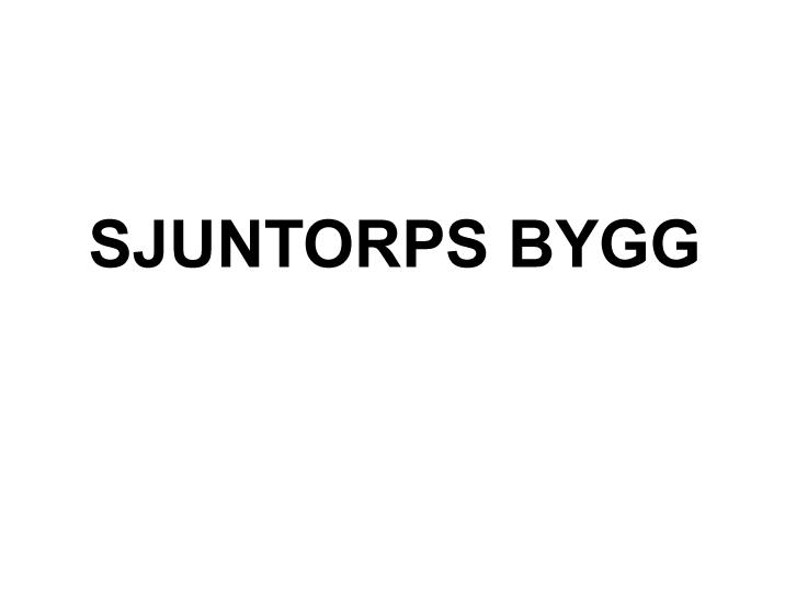 Sjuntorps Bygg AB