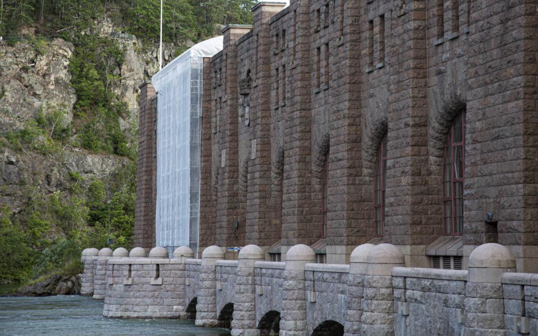 Renoveringar av fönstergluggar åt Vattenfall