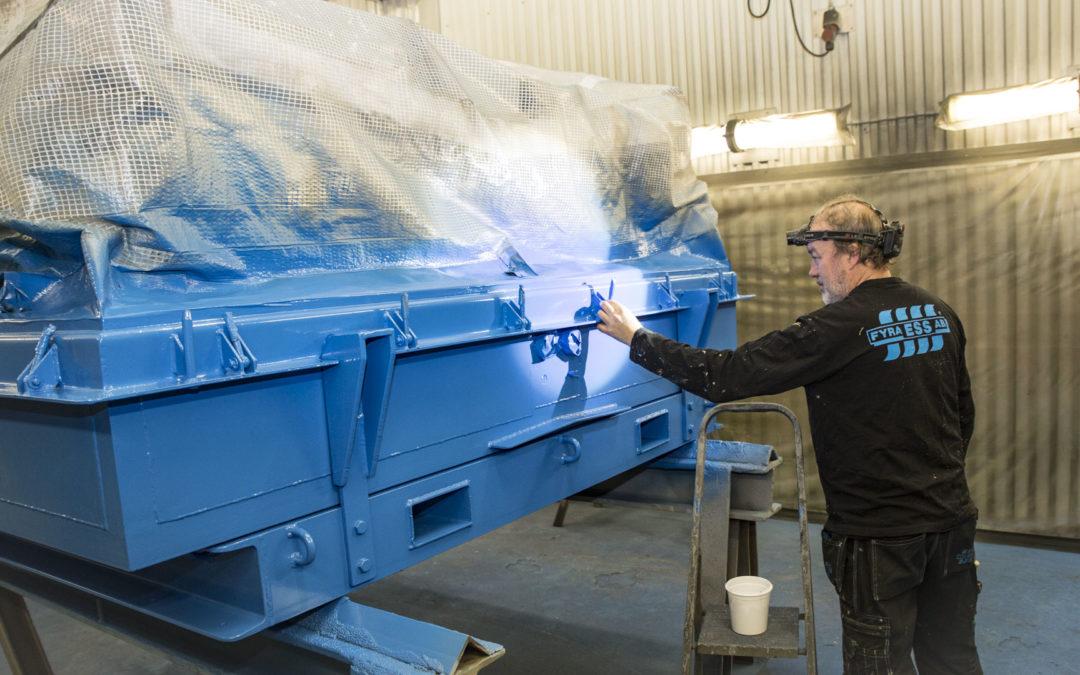 Rostskydd och finess åt svensk basindustri