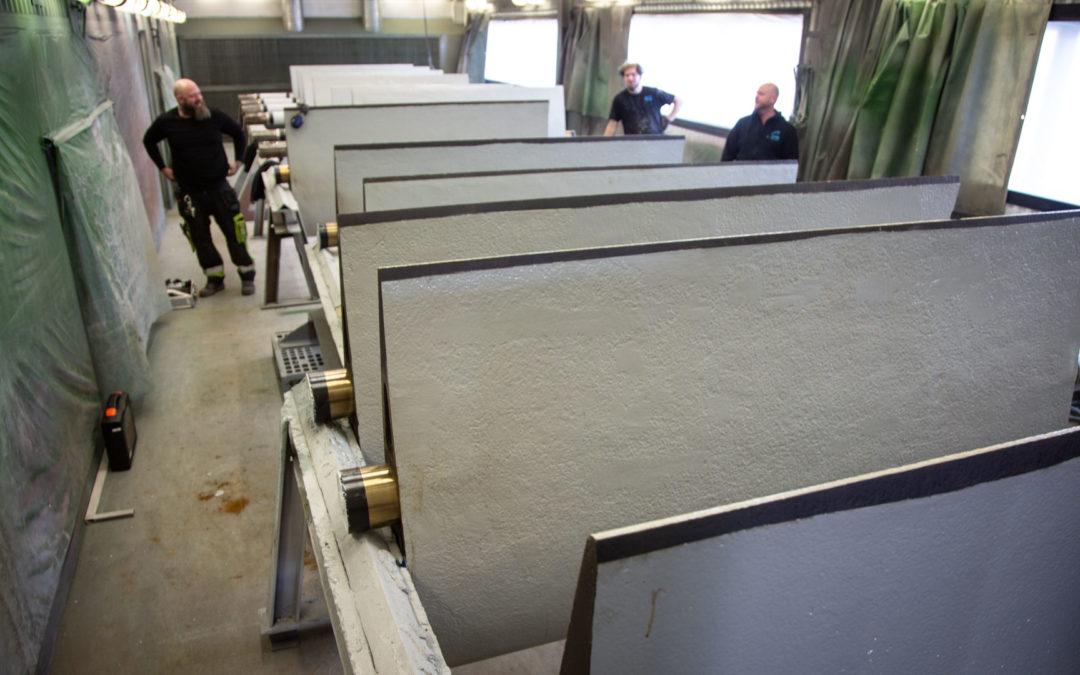 Nu återstår bara leveranskontroll och sammanställning av all dokumentation innan leverans till Vattenfall